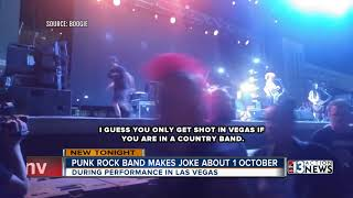 NOFX made an inappropriate joke about the mass shooting in Las Vega...