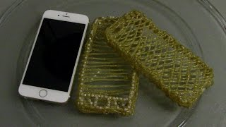 Como fazer Capa para celular com cola quente Passo a Passo