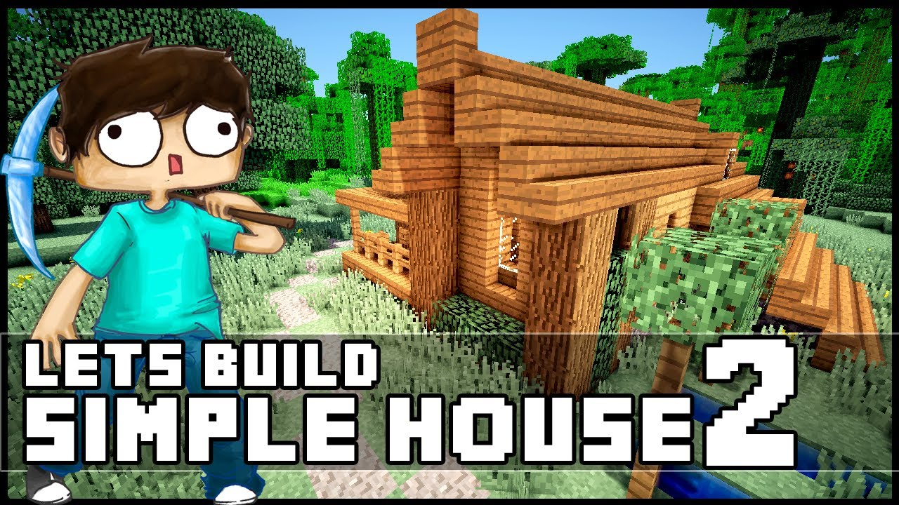 Minecraft How To Build a Simple Starter House 2 YouTube