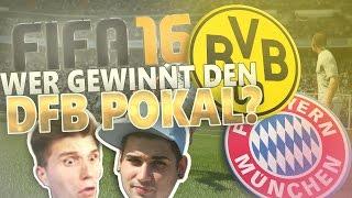 Wer gewinnt das DFB Pokal FINALE ?/ Peterle vs Paluten - FIFA 16