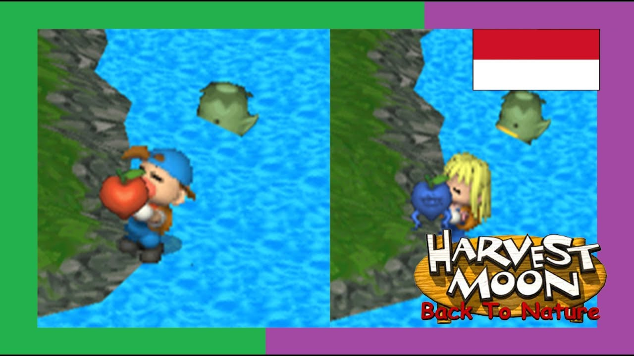 5 Perbedaan Harvest Moon Back To Nature Boy and Girl