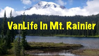 Exploring Mount Rainier National Park | Van Life in Washington State