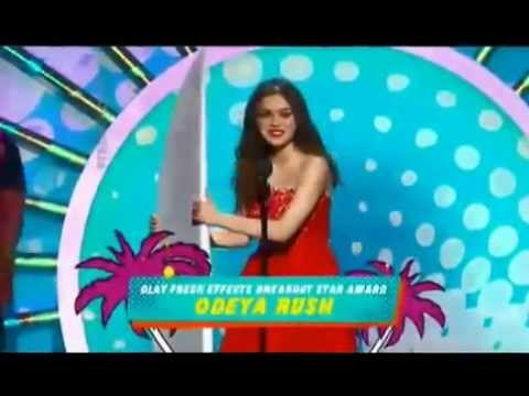 Odeya Rush wins teen choice award 2014