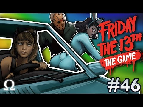 BLUE BUNNY RESCUE, KARMA FOR CHAD! | Friday the 13th The Game #46 Ft. Deluxe4, Momo