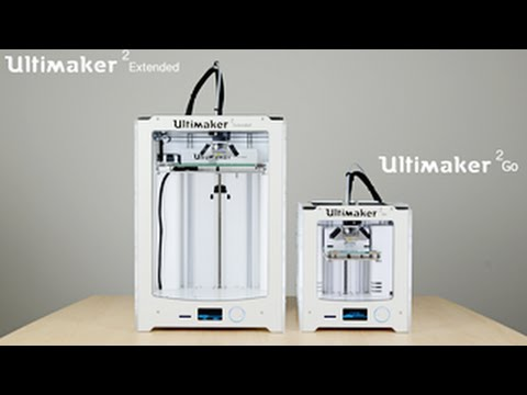 ultimaker extended ultimaker 2 go 2015 the first print by youtube. Black Bedroom Furniture Sets. Home Design Ideas