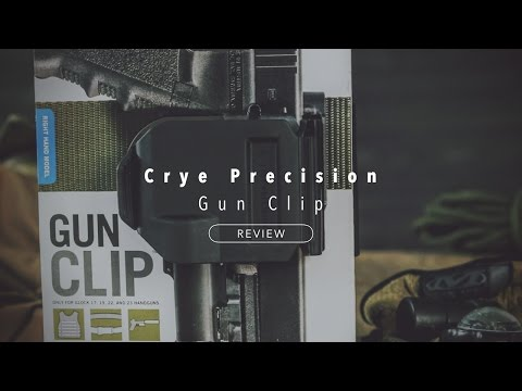 Crye Precision Gun Clip Holster for Glock 17, 19, 22, 23 [Review]