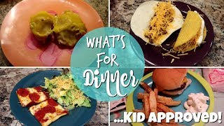 What's For Dinner | Mon - Fri | Kid Approved Meal Ideas 2019|