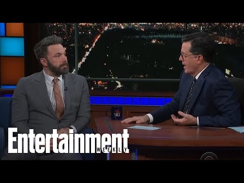 Download Youtube: Stephen Colbert Presses Ben Affleck On Harvey Weinstein, Groping | News Flash | Entertainment Weekly