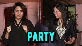 Neetu Singh, Zeenat Aman And Others At Friend's Birthday Party