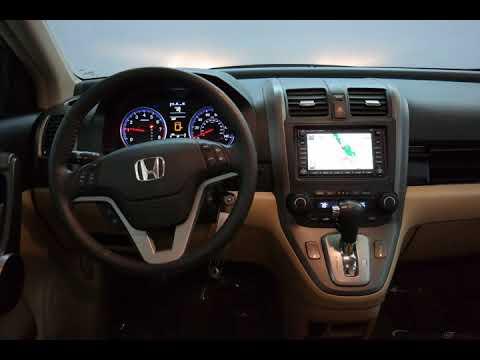 2009 Green Tea Metallic Honda CR-V 4D Sport Utility #9025A