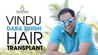Bollywood actor Vindu Dara Singh hair transplant @ Chandigarh