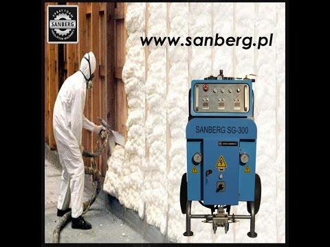 W Ultra Sanberg SB-300 Maszyna do natrysku pianki poliuretanowej www OD99