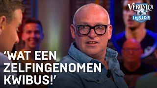 René van der Gijp over Clarence Seedorf: 'Wat een zelfingenomen kwibus'
