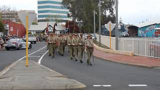 2017 October 21 Bunbury Army Reserve 11/28th Battalion DSCN9569