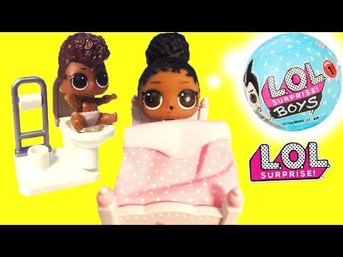 LOL Surprise Dolls New Sibling, Dinner & Beach Vacation with Playmobil Sets & Unboxings