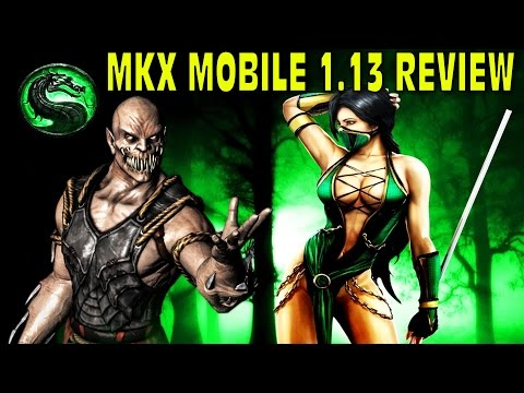 MKX Mobile Update 1.13 IS HERE. Quick Review. JADE and BARAKA!