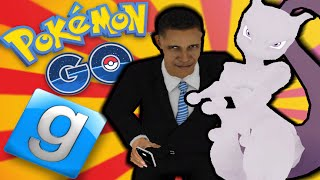 Obama hat MEWTU gefunden! POKEMON GO! - Gmod Sandbox Skit (Garry's Mod)