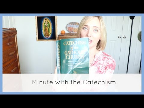 The EUCHARIST  Forgives Sins!   Minute with the Catechism