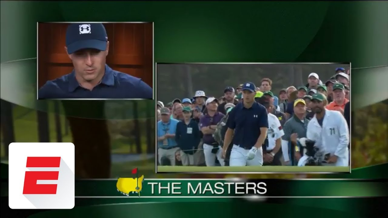 Jordan Spieth posts 6-under 66, leads Masters by 2 shots after opening round | ESPN