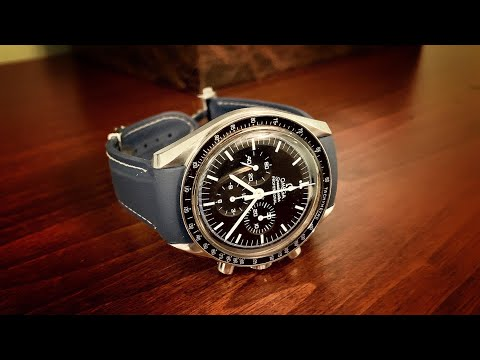 Strapie Inc. Fitted Rubber Strap For Omega Speedmaster