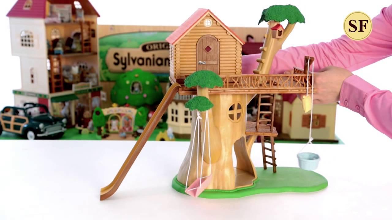 Трехэтажный домик Happy Family (аналог Sylvanian Families) обзор .