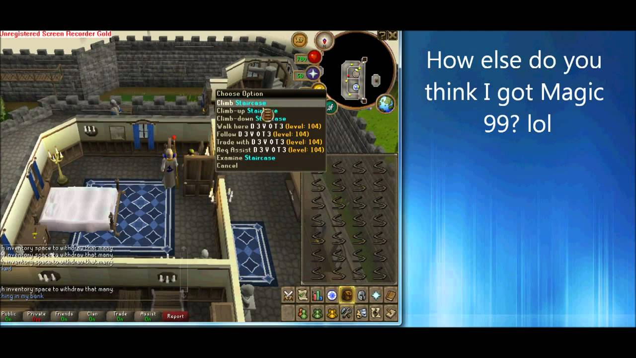 Runescape Auto Clicker - Undetectable Way to Level up!