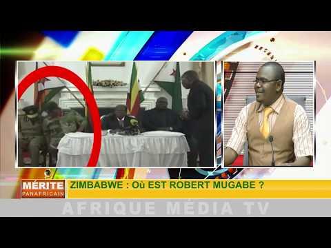LE MERITE PANAFRICAIN DU 24 11 2017 ZIMBABWE: OU EST PASSE MUGABE