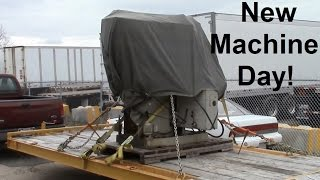 New Machine Day - Manual Mill