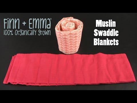 Muslin Swaddle Blankets From Finn + Emma