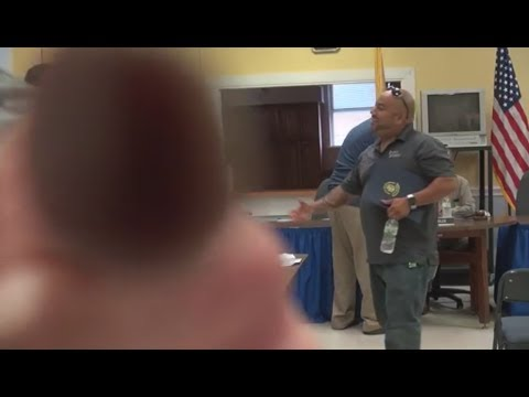 Housing Authority Vice Chairman Loses Cool After Meeting - 7/26/17