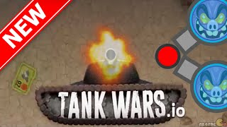 Tank Wars.io Boss Tank In The Server Similar To Agar.io / Diep.io With Real Tank!