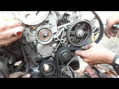 How To Toyota 1c 2c 3c Diesel Engine Timing Installation Urdu In Hindi