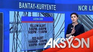 Luzon grid, red alert ulit