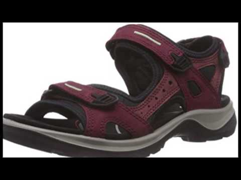 ECCO Women's Yucatan Sandal Outdoor Sandal YouTube