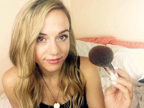 Makeup Role Play  ASMR Face Brushing/Personal Attention