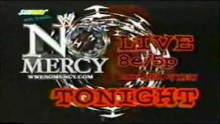 WWE No Mercy 2002 Commercial 1