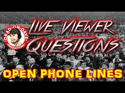 Live Viewer Questions - Pre States Visit Show!