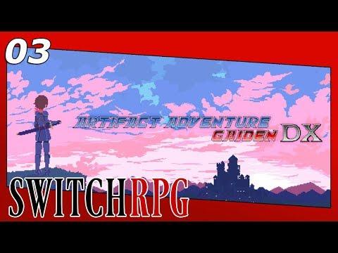 Artifact Adventure Gaiden DX - Nintendo Switch Gameplay - Episode 3 - Into The Wilderness