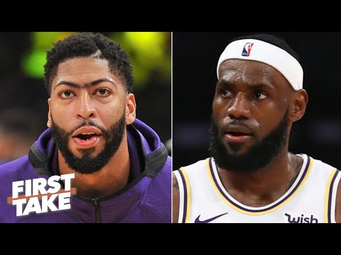 'Anthony Davis needs LeBron' to become a Lakers legend - Max Kellerman | First Take
