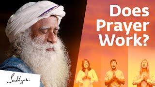 Should You Pray To God? Sadhguru's Eye-opening Answer