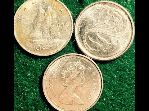 Canadian Dimes From 1968 To Date