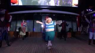 Pirates IN the Caribbean Deck Party Disney Cruise Disney Cruise Disney Magic 2014