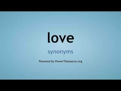 Love Synonyms