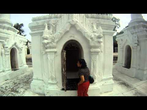 World's biggest book , Kuthodaw Pagoda, Mandalay