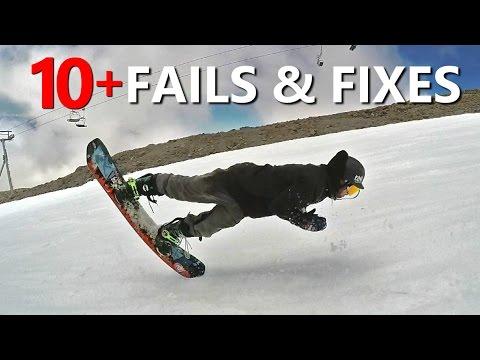 Get 10+ Snowboard Trick Fails & Fixes Images