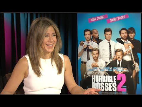 Jennifer Aniston interview - Horrible Bosses 2, Cake, Friends