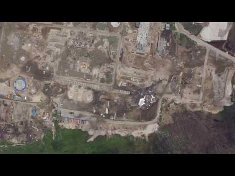 Dangote Fertlizer Plant Drone Vid May 2016