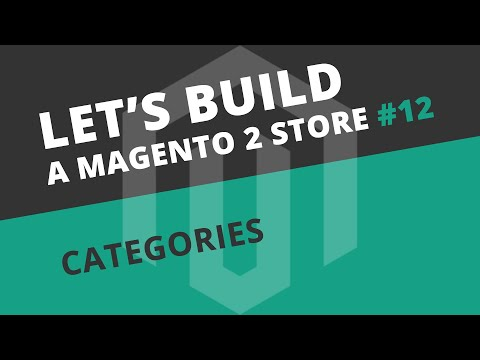 Let's build a Magento 2 store: Ep12 - Categories, Blocks and Widgets