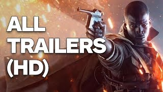 Battlefield 1 Supercut - Every Trailer