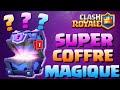 Ref:VMW9P73oKGs J ouvre mon 1er super coffre magique | clash royale